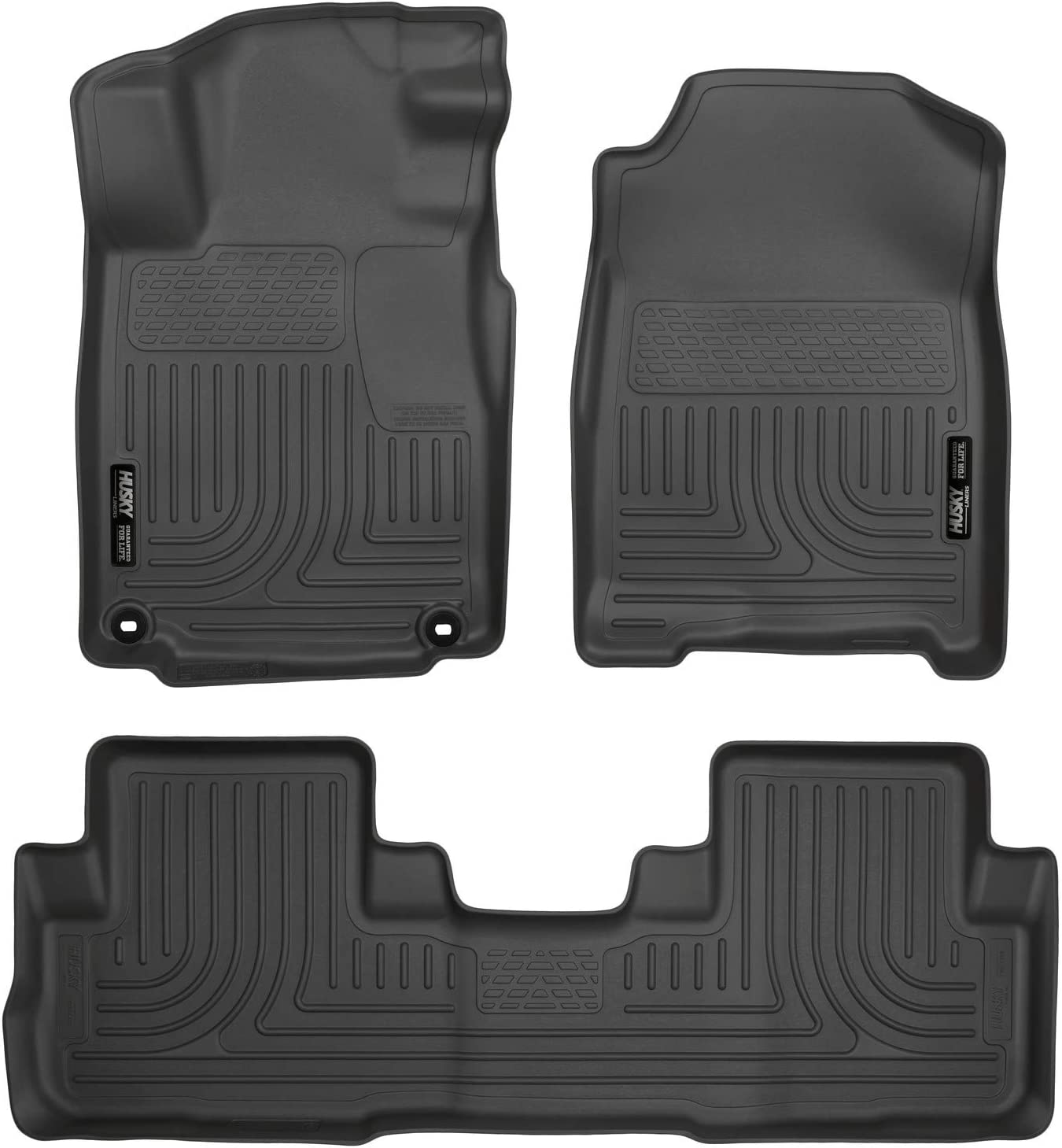 Enthuze 2nd Row Liners for 12-16 Honda CRV