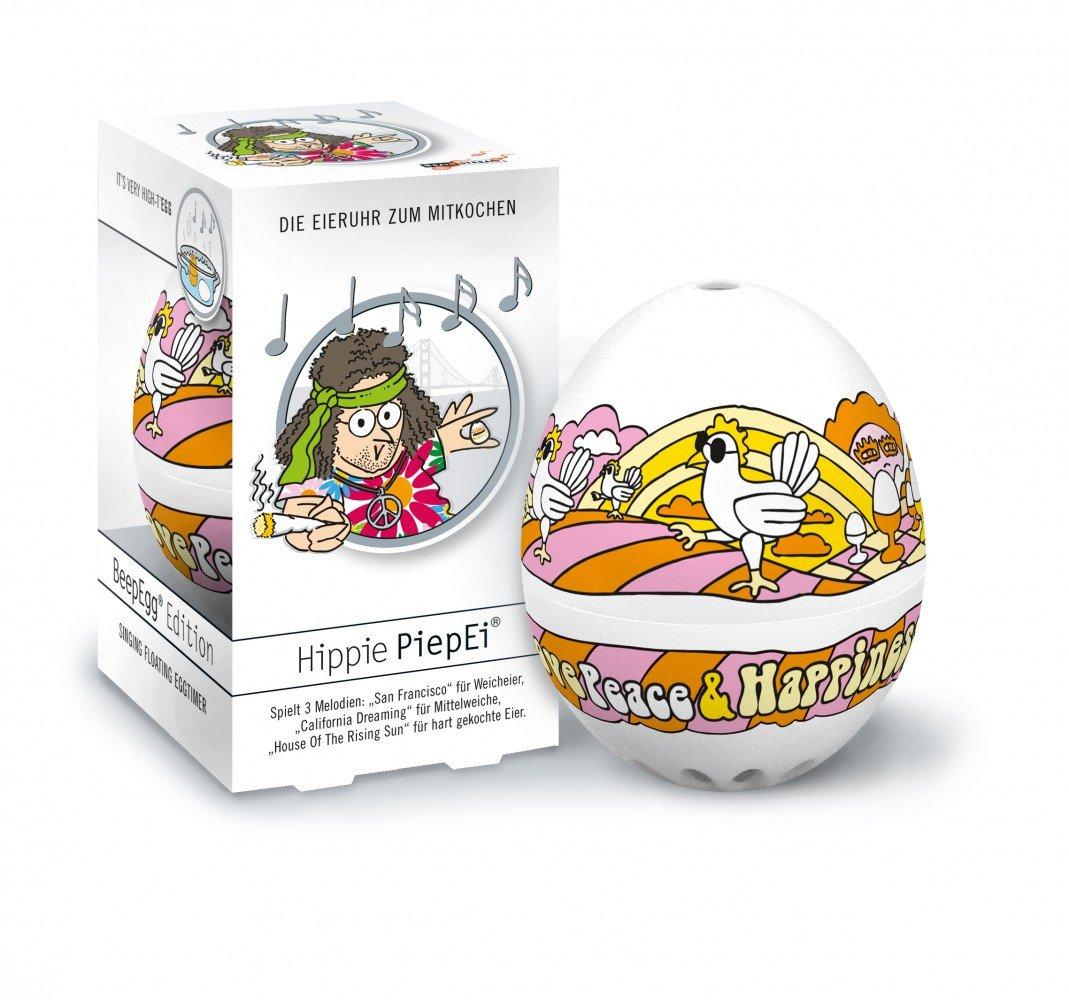 PiepEi Hippie - Temporizador para cocer huevos Brainstream