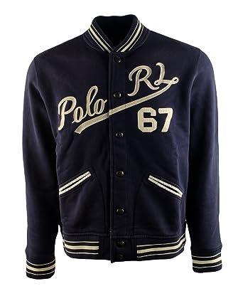 Amazon.com: Polo Ralph Lauren Men's Baseball Jacket (Medium): Clothing