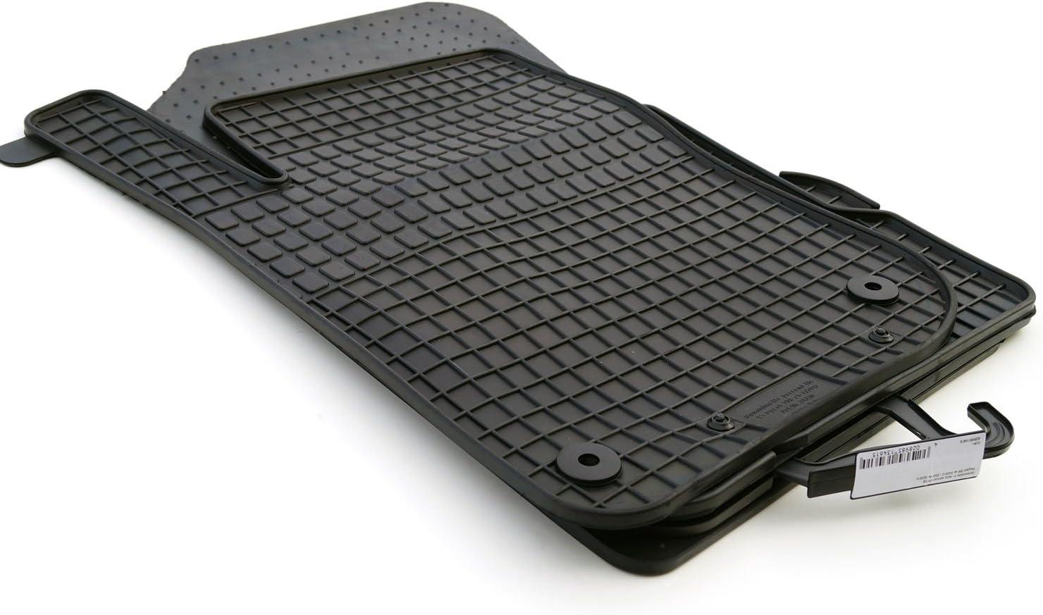 Kh Teile Gummimatten 208 Set 4 Teilig Original Qualität Gummi Fußmatten Schwarz Auto
