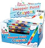 12 x Swop Point Crayons