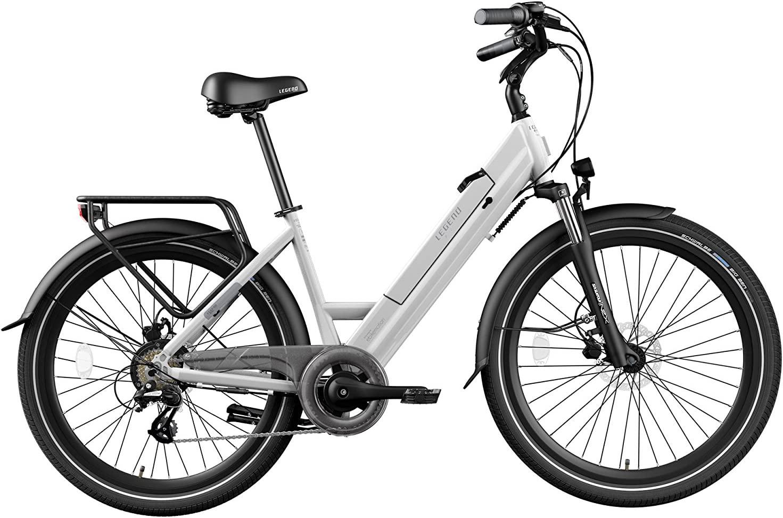LEGEND EBIKES Milano Bicicleta Eléctrica Plegable, Unisex Adulto, Onyx Black, Talla Única