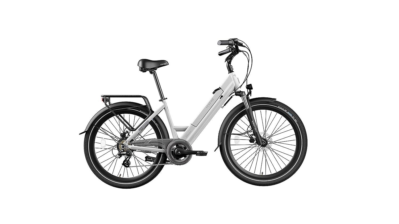 Legend eBikes Milano 36V10.4Ah Bicicleta Eléctrica Plegable, Unisex Adulto, Arctic White, Talla Única: Amazon.es: Deportes y aire libre