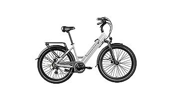 Legend eBikes Milano 36V14Ah Bicicleta Eléctrica Plegable, Unisex Adulto, Arctic White, Talla Única