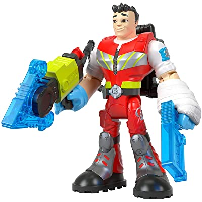 Fisher-Price Rescue Heroes Reed Vitals, 6-Inch Figure with Accessories: Toys & Games