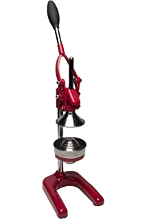 Cilio 309270 Profi - Exprimidor en forma de prensa, color rojo