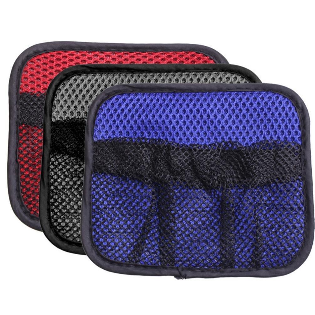 Automotive Adhesive Visor Car Net Pockets Storage Bag 15X8cm