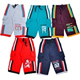 1LY GARMENTS Boys 3/4TH Shorts Pack of 5