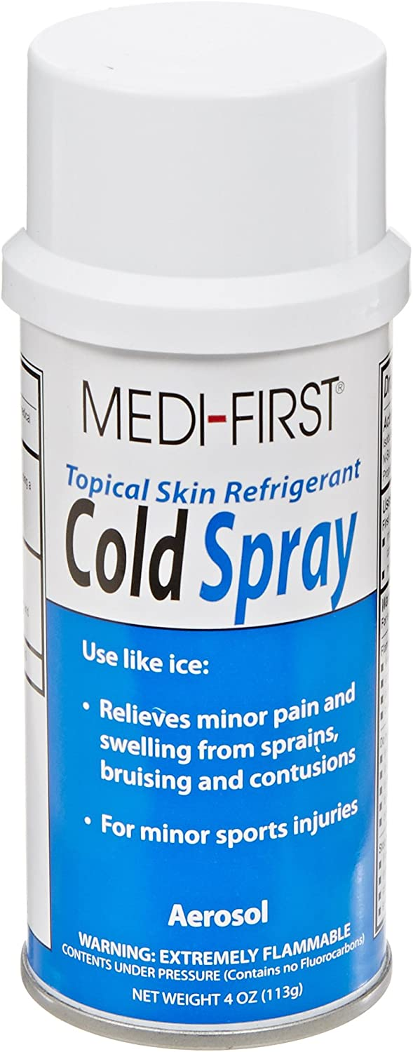 Topical Coolant Spray, Can, 4 oz.