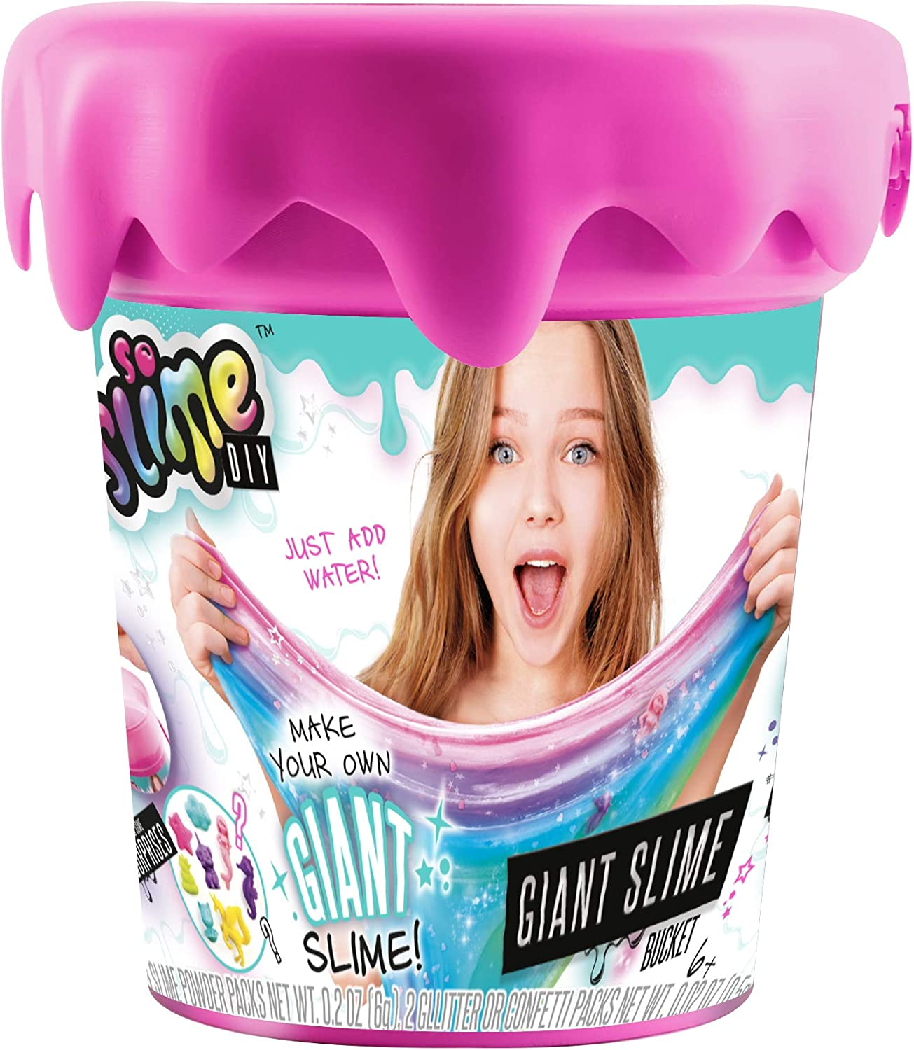 Canal Toys So Slime DIY - Giant Slime Bucket Pink