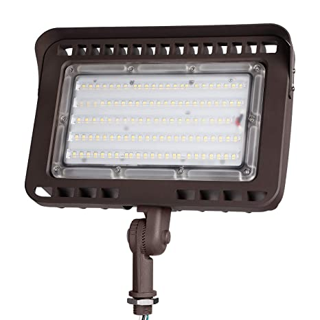 Leonlite Led Outdoor Flood Light With Knuckle 100w 1000w Eqv 11 000lm Super Bright Etl Dlc Listed Wall Washer Security Light Cri90 Ip65