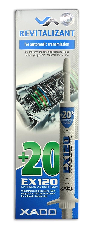 XADO EX120 Extrê me Action 120% Additif huile pour Transmissions automatique –  8 ml