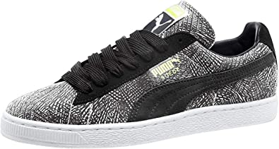 PUMA Mens Mis-Match Suede Ankle-High Fashion Sneaker