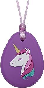 Munchables Sensory Chew Necklaces for Girls - Unicorn (Purple)