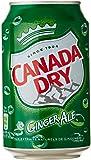 Canada Dry Boisson aux Extraits Naturels de gingembre 6x330 ml - Lot de 2