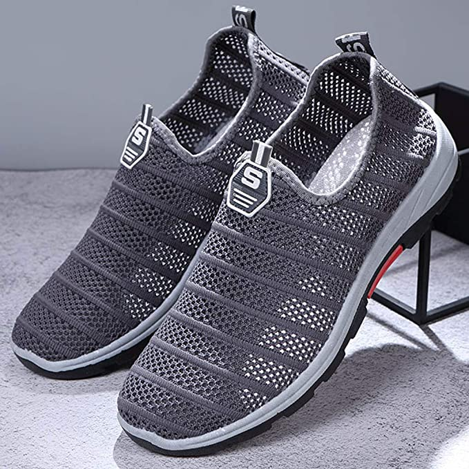 dc73fb7f86524 ❤ Mealeaf ❤ Women's Hollow Woven Mesh Breathable Sneakers ...