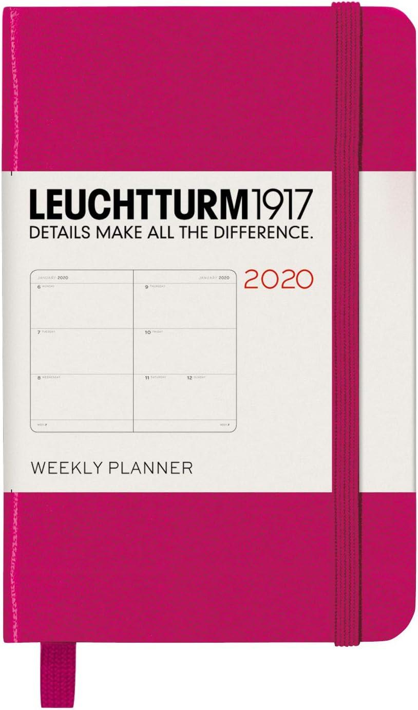 Beere 2020 Englisch LEUCHTTURM1917 360722 Wochenkalender Hardcover Mini A7