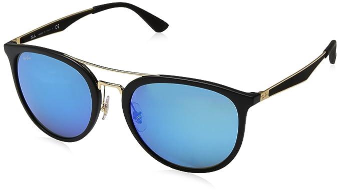 RAY-BAN 0Rb4285 Gafas de sol, Matte Black, 55 para Hombre ...