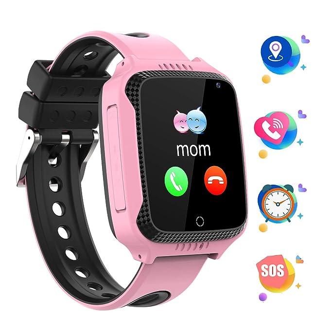 GPS localizador Reloj Inteligente para Niños Telefono, Tracker ...