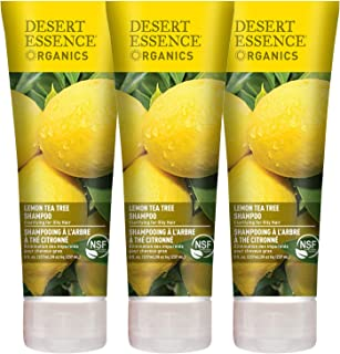 product image for Desert Essence Lemon Tea Tree Shampoo - 8 Fl Oz - Pack Of 3 - Removes Excess Oil - Revitalizes Scalp - Strengthens & Protects Hair - Maca Root Extract - Soft, Smooth & More Manageable