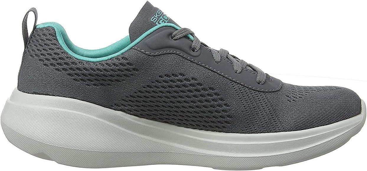 Skechers Womens GO RUN FAST-GLIDE Trainers, Grey (Charcoal ...