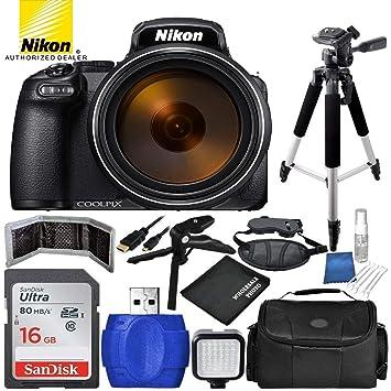 exclusive shoes competitive price top brands Nikon COOLPIX P900 Bundle Appareil Photo numérique avec kit ...
