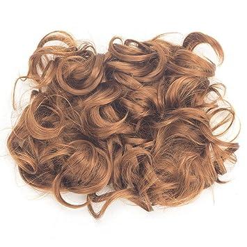OMG Adjustable Donut Chignons Bun Ponytail Scrunchie Updo Bridal Human Hair