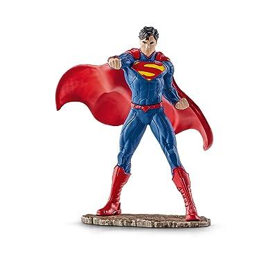 SCHLEICH Superman Fighting Action Figure: Schleich: Toys & Games