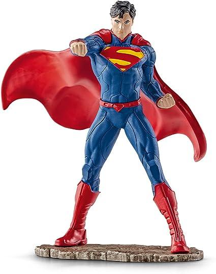 Amazon.com: Schleich Superman Figura de acción de lucha ...