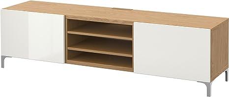 IKEA BESTA - Mueble TV con cajones efecto Roble / selsviken ...