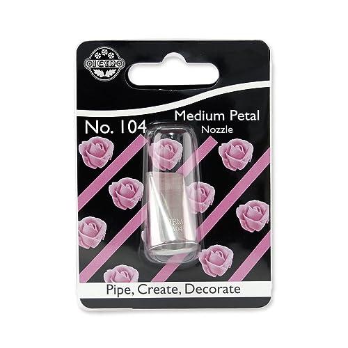 JEM Medium Petal/Ruffle Piping Nozzle no. 104