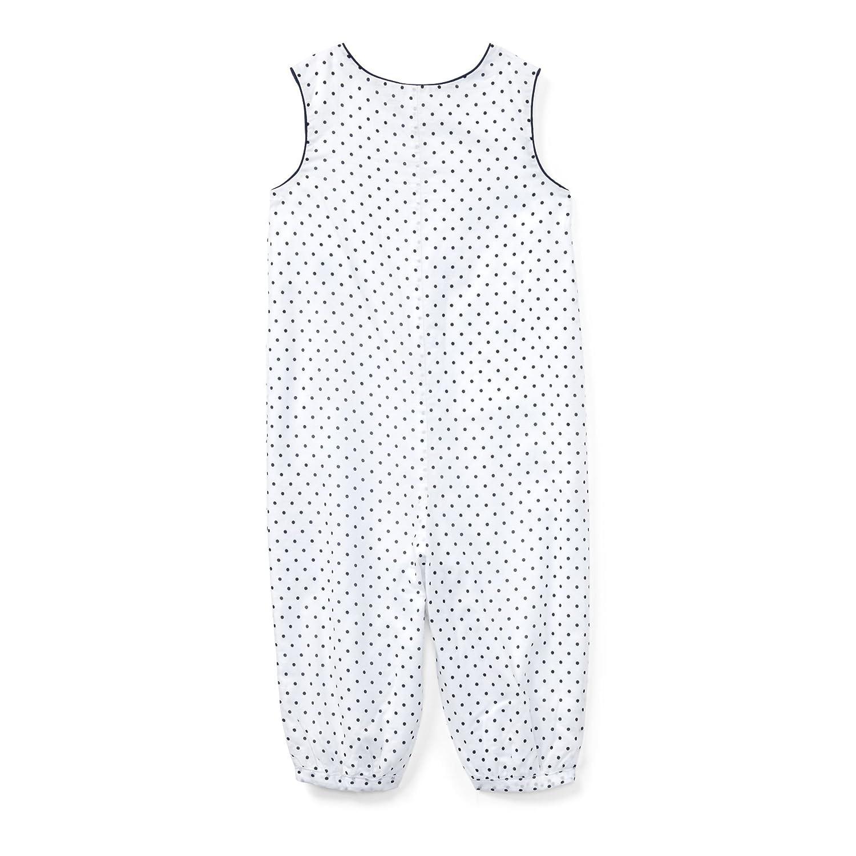 Ralph Lauren Baby Girls` Polka Dot Cotton Coverall