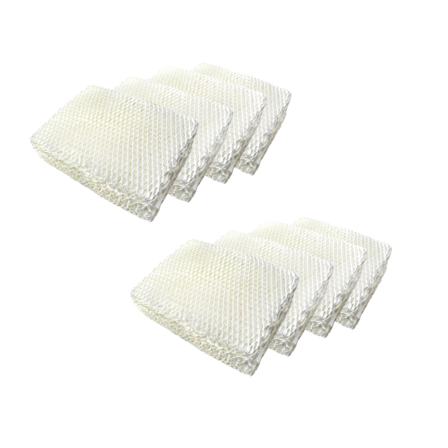 HQRP 8-pack Wick Filter for Kenmore 32-14911 Essick Air HDC12 / HDC-12 Replacement, 15414, 15420, 14452, 14453, 14454, 14415, 14417, 03215420000 + HQRP Coaster