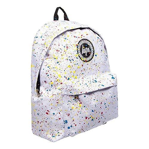 Hype White   Multi Rucksack   School, Work, Gym Bags Bag - Splatter Primary cb5f7a2ac3