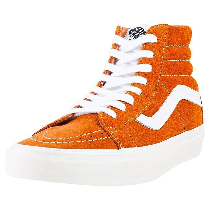 vans naranjas hombre