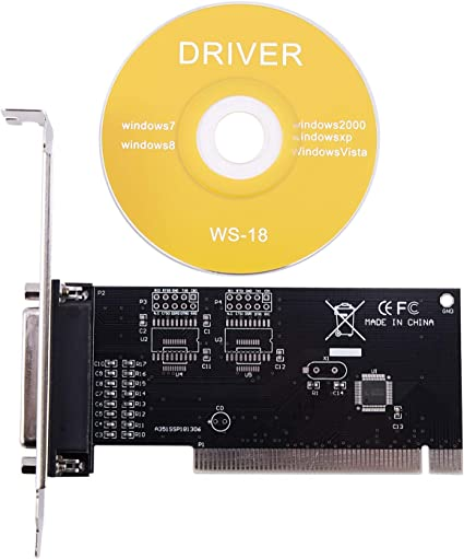 Tarjeta de expansión Cobeky Pci de 25 pines paralelo Lpt Pci a puerto de impresora Db25 paralelo tarjeta controladora: Amazon.es: Electrónica