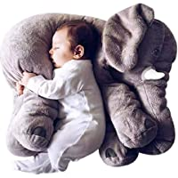 DearJoy Baby Elephant Pillow (Grey)