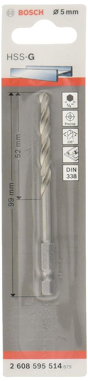 /Ø 5,2 mm Bosch Professional Metallbohrer HSS-G geschliffen