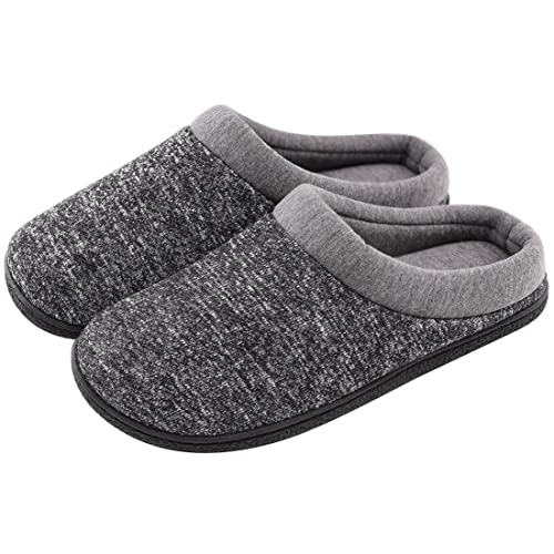 fc26ee51ac4 HomeTop Men s Comfort Breathable Moisture-Wicking Spring Summer Slip On Memory  Foam House Slippers Shoes