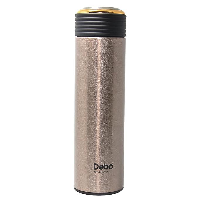 Debo Edelstahl Wasserflasche doppelwandig Auslaufsichere ...