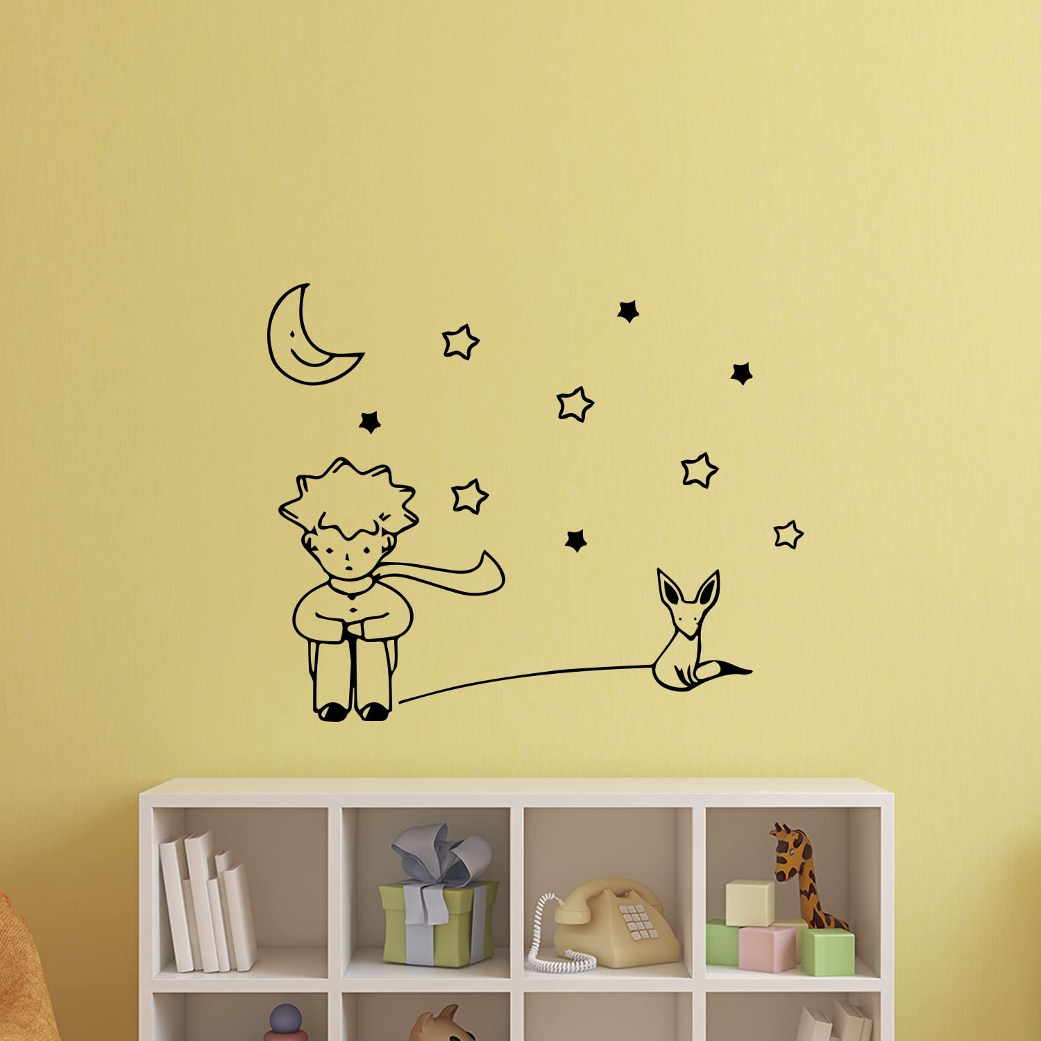 Trendy Our Little Prince Removable Art Vinyl Mural Home Room Decor Wall Stickers
