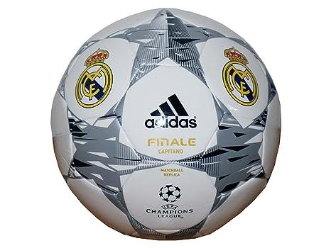 820567eff Adidas F93390 Pallone da Calcio Real Madrid Champions League 2014-2015