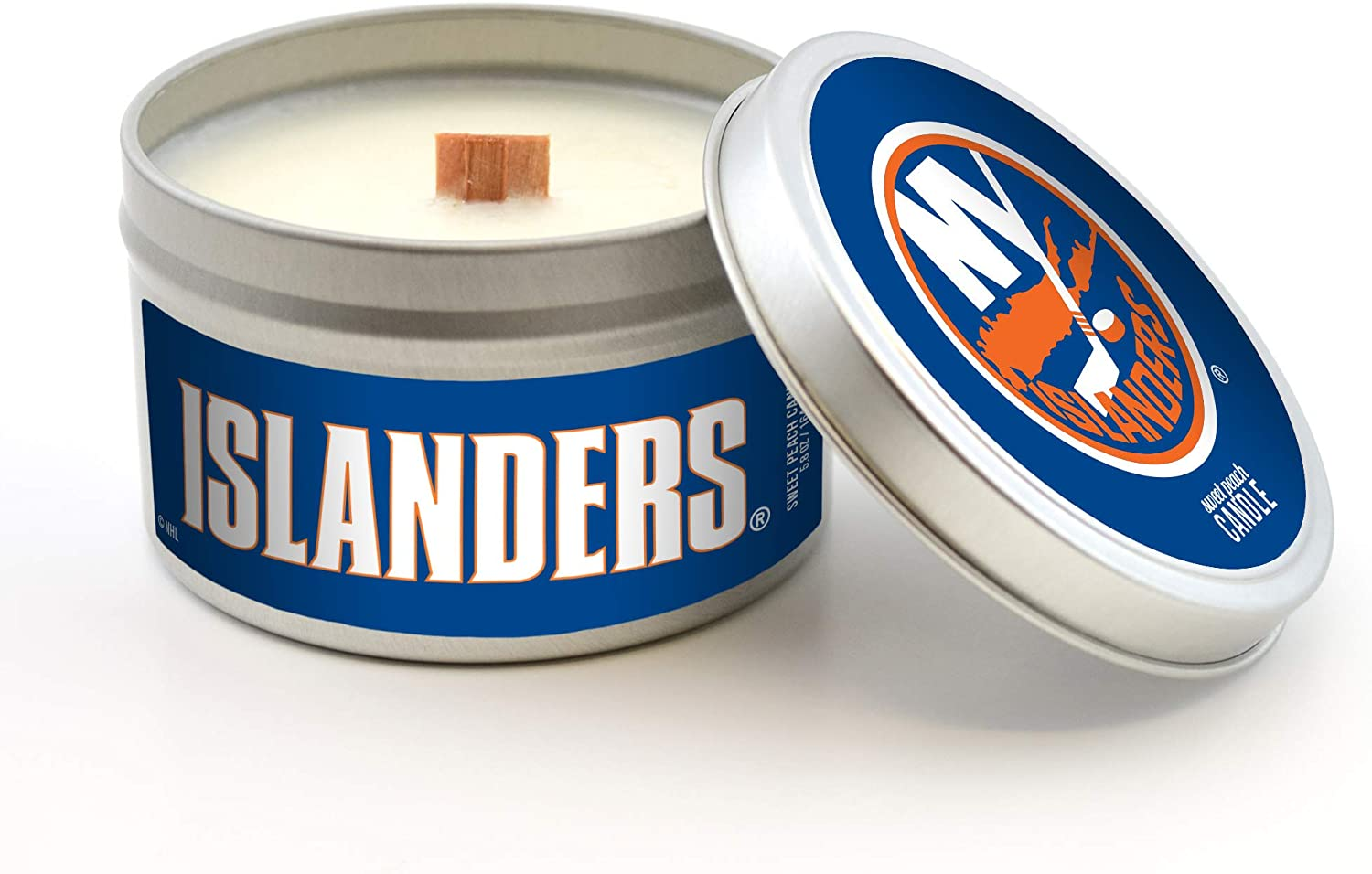 Worthy Promo NHL Buffalo Sabres Sweet Peach Scented Soy Wax Candle