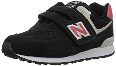 buy popular 88f1c 37c76 New Balance Boys  574v1 Sneaker, Black Pomelo, 2 M US Infant