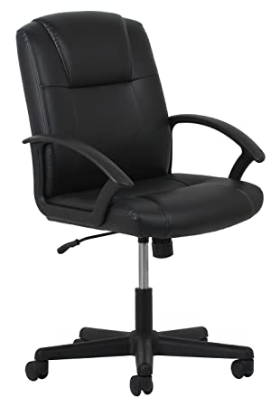 Amazoncom Essentials Leather Executive OfficeComputer Chair - Office computer chairs