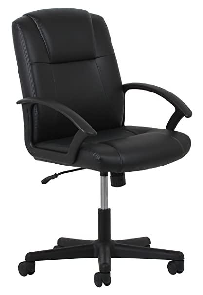 leather office chair amazon. OFM Essentials Leather Executive Office/Computer Chair With Arms - Ergonomic Swivel (ESS Office Amazon O