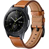 Kartice Compatible Galaxy Watch Active (40mm) Bands,Gear Sport Bands,20mm Leather Replacement Buckle Wrist Band for Samsung Galaxy Watch Active (40mm)/Galaxy Watch (42mm)/Gear Sport Smart Watch.