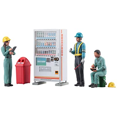 Hasegawa WM06 1:35 Construction Worker Set B, Various: Toys & Games