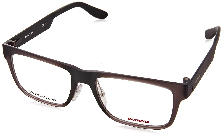 9e1ec081913 Amazon.com  Carrera 5534 Eyeglass Frames CA5534-0MVE-5317 - Gray   Matte  Black Frame
