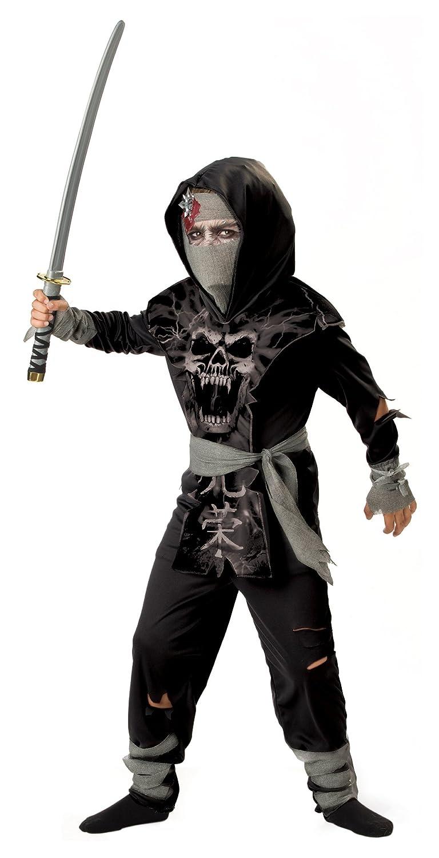 Amazon.com: Dark Zombie Ninja Costume - X-Large: Clothing